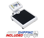 Detecto PD200 Space-Saving Digital Doctor Scale with 480 lb. Capacity