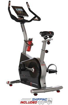Diamondback 910Ub Residential Upright Exercise Bike w/ Electronic Media Docking
