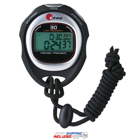 Ekho K-250 Hand Held Stopwatch for CrossFit, HIIT and Performance Training