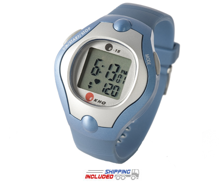Ekho E-15 Heart Rate Monitor Watch with Target Zone