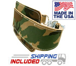 USA Made US Woodland Camo Dipping Belt
