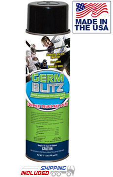 Germ Blitz AC155 Aerosol Gym Equipment Disinfectant Spray Cans