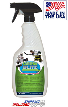 Germ Blitz LD22 Heavy-Cleaning Gym Equipment Disinfecting Spray Pumps