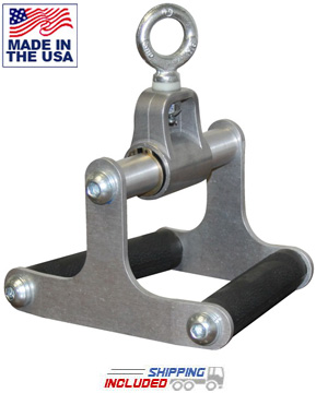 American Barbell Aluminum Seated Row Cable Attachment