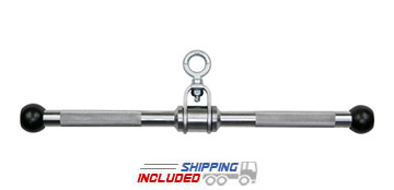 Hard Chrome Revolving Solid Straight Bar Cable Attachment