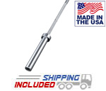 Hard Chrome Women's Olympic Weightlifting Bar