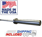 "6' 7"" Hard Chrome Women's Olympic Weightlifting Bar - 15KG"