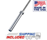 USA Made 7' Stainless Steel Competition Bar