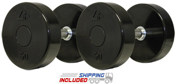 GP Series 2 Solid Head Urethane Dumbbells