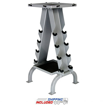 American Barbell Accessory Rack with Storage Trays for Cable Attachments