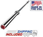 American Barbell 20KG Savage Stainless Cerakote Mammoth Olympic Power Bar