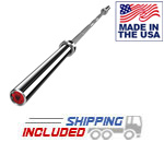 American Barbell 7' Stainless Steel Olympic Power Bar
