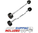American Barbell Series II Commercial Fixed Solid Head Urethane Barbells
