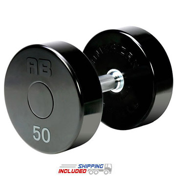 American Barbell DBAB2 Series II Solid Head Urethane Dumbbells