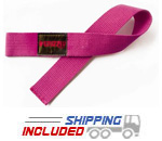 Pink Cotton Weight Lifting Straps for Women