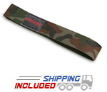 Grizzly Camouflage Cotton Webbing Weight Lifting Straps