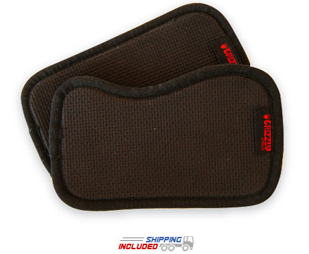 Grizzly Grab Pads for Weight Training