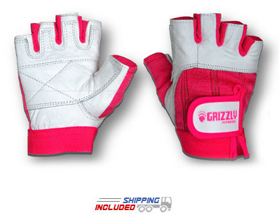 Women's Pink Canadian Breast Cancer Foundation Weightlifting Gloves