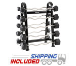 Hampton Dura-Bar Barbell Set and Rack