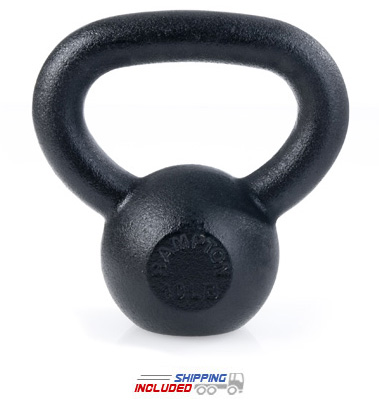 5 lb Black Hampton Kettle Bell 24mm Handle (HKB-5)