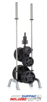 Hampton IPT-2B International Weight Plate Tree and Bar Holder