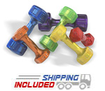 Jelly Bell urethane dumbbell
