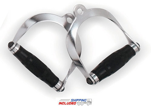Deluxe Stirrup -- Hampton Chrome Pair (MDSH-U)