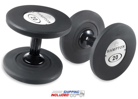 Hampton urethane dumbbells