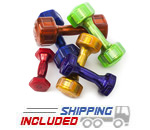 Hampton Jelly Bell Dumbbell Sets