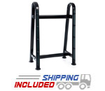 Hampton BBR-10 Pro-Style Barbell Rack with Oval Steel Tubing