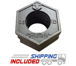 Iron Bull 0.5 lb. Olympic Fraction Plates