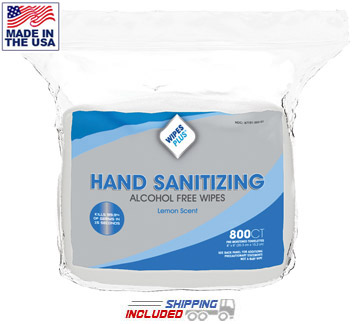 antibacterial wipes