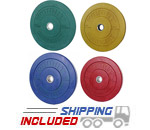 Budget Priced Colored Bumper Plate Sets