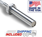 Iron Grip OB-5 5' Hard Chrome Olympic Bar Made In USA