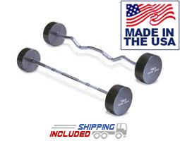 Solid Steel Barbells