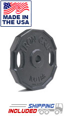 Iron Grip Cast Iron Barbell Plates