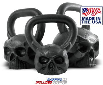 Skullbell Kettlebell Set by Ironskull Fitness
