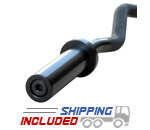 Commercial Olympic Black Oxide 5' E-Z Curl Bar