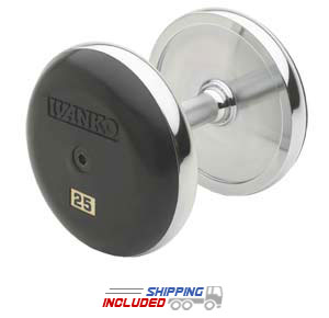 Ivanko fixed forged dumbbell