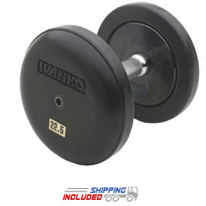 Ivanko fixed rubber dumbbell