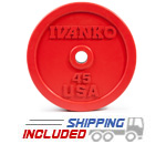 OBP Bumper Plate Package