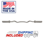 Ivanko OBZS-30 Stainless Steel E-Z Curl Bar