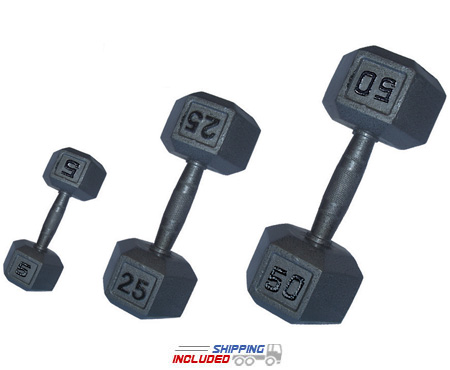 Contour Hex Dumbbell Set - Kamparts