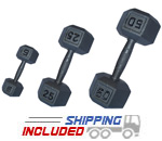 5-100 lb. Contour Hex Dumbbell Set – Kamparts (360GE-5-100)
