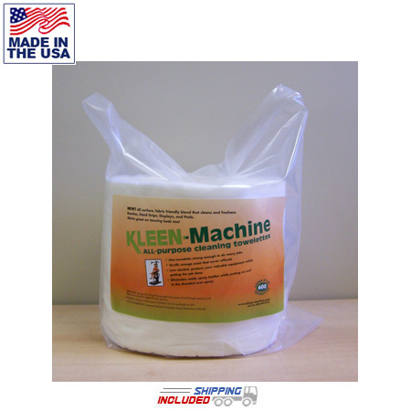 Kleen Machine KM-900-R All-Purpose Cleaning Wipes Polybagged REFILL
