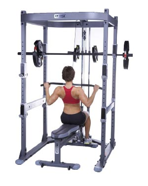 how much does a smith machine bar weigh