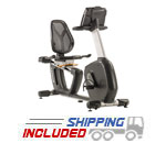 R7 Light Commercial Recumbent Bike