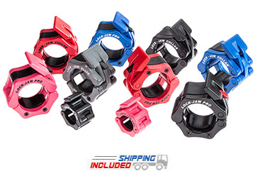 Lock-Jaw Weight Lifting Collars for Group Fitness and Cross-Training