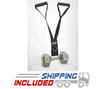 Delt-Belt Dumbbell Upright Row / Multi-Use Straps