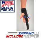 Haulin' Hooks ORIGINALS Weightlifting Hooks and Straps (Pair)